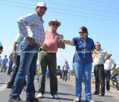 Negociación entre el gobierno y productores logró el levantamiento del corte de la ruta 16
