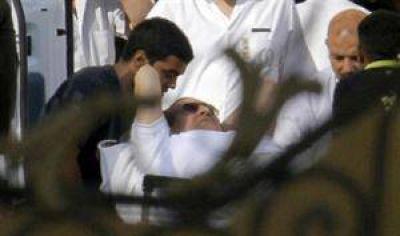 Tensión en Egipto: Mubarak dejó la prisión tras más de dos años