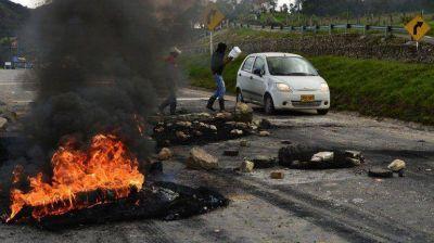 Colombia: desabastecimiento en Bogot� por la huelga agraria