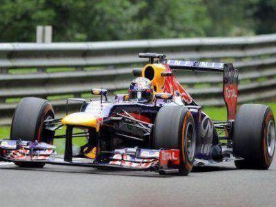 Red Bull dominó en Bélgica