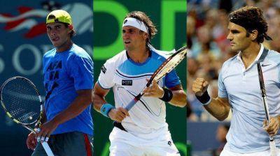 US Open: Nadal, Ferrer y Federer debutan este lunes