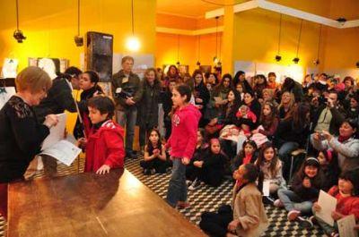Con la entrega de premios se inauguró la muestra 'Día del Niño'