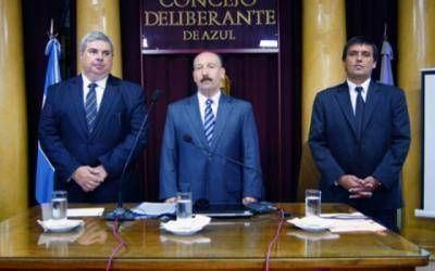 """""""Con la Democracia no se juega"""", el comunicado en defensa del Intendente de Azul José Inza"""