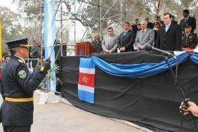 El gobernador presidió el acto central por el 61º aniversario de la Policía de la Provincia