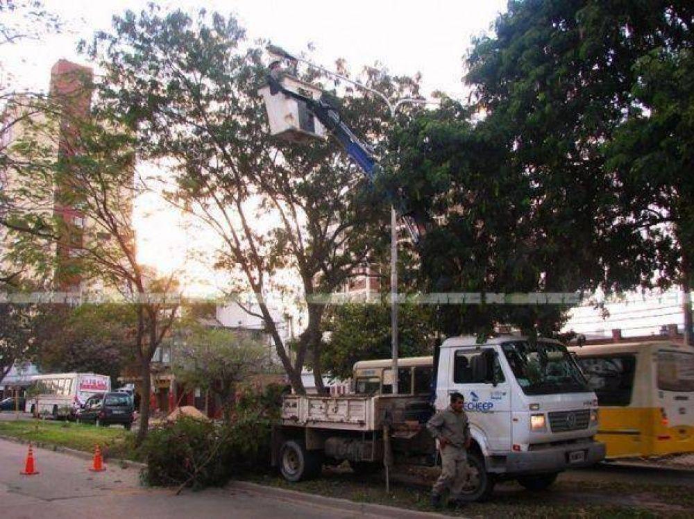 Nueva guerra entre Secheep y la Municipalidad mientras la capital chaqueña sigue a oscuras