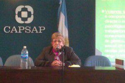 La jueza Clara Langhe de Falcone asegur� que en Jujuy �hay algunas organizaciones sociales que son muy violentas�