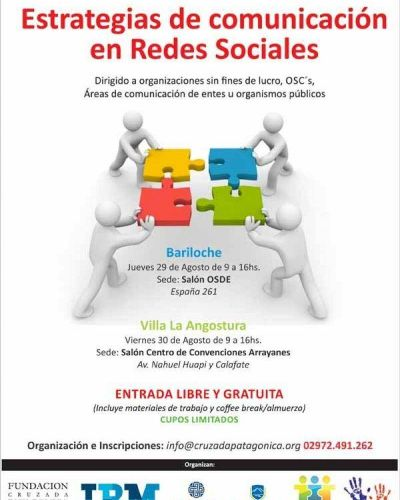 Anuncian taller capacitación en estrategia de comunicación en redes sociales