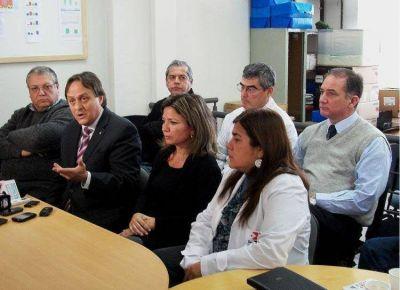 Urbani garantizó el servicio de salud en la provincia