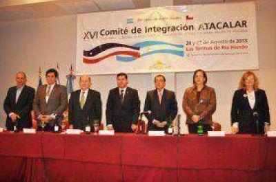 El Vicegobernador cerró la reunión plenaria de la macroregión ATACACLAR