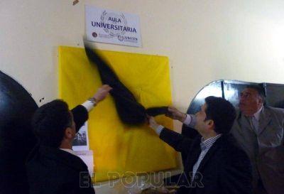 La Unicén inauguró la primer aula propia en la Unidad N° 27