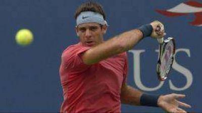 Debut exitoso y sufrido de Del Potro en el US Open