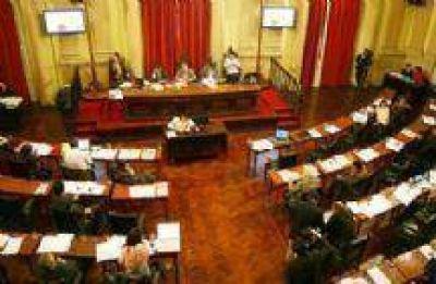 En la Cámara de Diputados hubo rechazo a la precandidatura de Carlos Villalba
