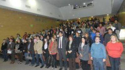 """Lanzamiento del Programa """"Terminalidad Educativa"""" para beneficiarios del """"Capital Social"""""""