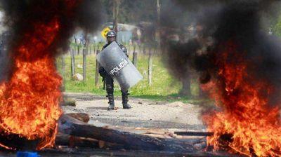 Paro de campesinos colombianos satura las calles de Bogotá y Cali