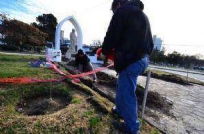 Comenzaron las obras de iluminación en 5 monumentos históricos