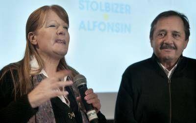 Elecciones 2013: Stolbizer, Alfonsín y Cobos junto a Gutiérrez en Pergamino