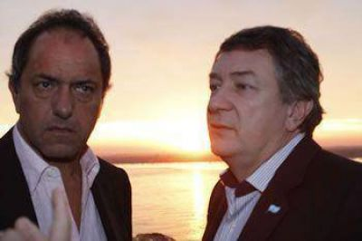 Scioli sobre Yahuar: Es quien mejor representa a este gobierno nacional y popular en Chubut
