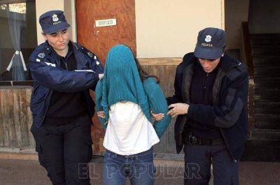 Crimen en Espigas: la imputada fue trasladada al penal de Azul
