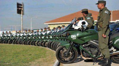 El Gobierno anunció el envío de más gendarmes a custodiar el conurbano
