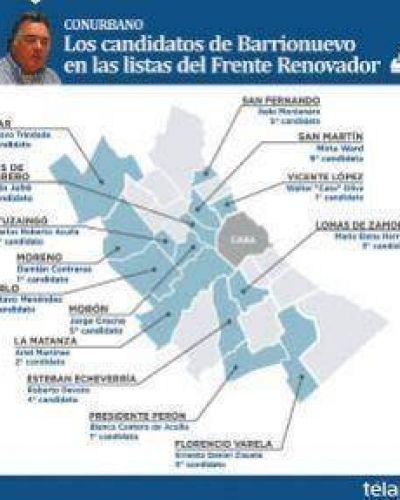 Massa esconde en sus listas a los candidatos de Luis Barrionuevo