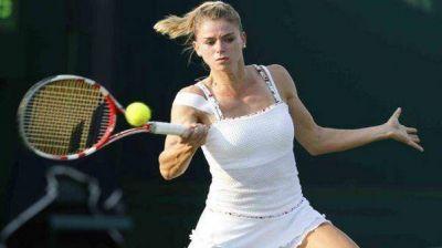 Una hermosa ítalo-argentina dio el batacazo en el US Open