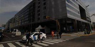 Fuerte operativo de seguridad por las reuniones del COI