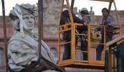"""""""El monumento no se puede mover de ese lugar"""""""