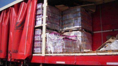 Piratas del asfalto roban un camión cada cinco horas