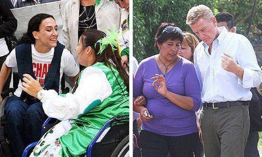 Michetti cruzará a la Provincia para hacer campaña con De Narváez