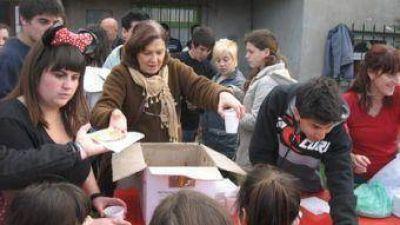Alrededor de cien niños en los festejos organizados por FpV Lista 2