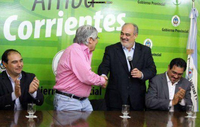 Hugo Moyano visita de nuevo Corrientes para apoyar a Colombi