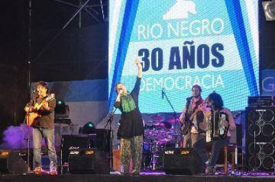 Río Colorado celebró los 30 años en democracia