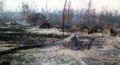 Problemas con el suministro de energía por el incendio en Forestal