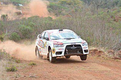 Rosiak y Doroñuk se adueñaron del rally en Campo Viera
