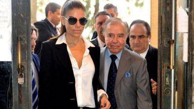 Menem pidió ser sobreseído en el comienzo del juicio en su contra por no haber declarado bienes