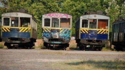 Los antiguos vagones de la línea A, listos para volver al ruedo