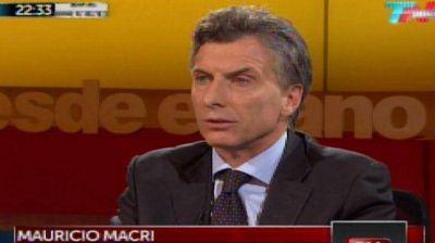 "Macri a Cristina Kirchner: ""No entiendo por qué ese tipo de comentario"""