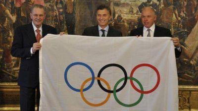 Macri distinguió como huésped de honor al Presidente del COI