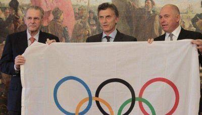 La Ciudad recibi� la Bandera Ol�mpica