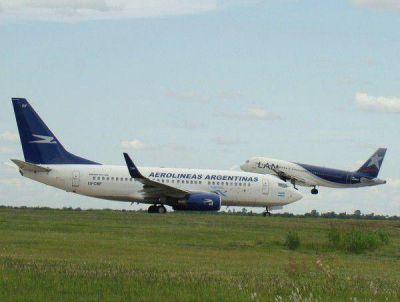 Para cumplir con su vuelo a Bahía, Aerolíneas tuvo que pedirle ayuda a LAN