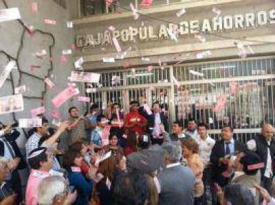 Cortalezzi cerró la Caja Popular en Concepción para evitar una asamblea