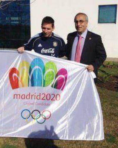 "Messi: ""Estoy con Madrid 2020"""