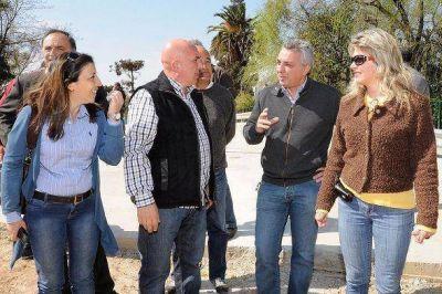 """Seguimos creando nuevos accesos en Tigre"", destacó Julio Zamora"