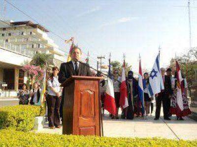 En el Mástil Municipal se rendirán homenaje a los inmigrantes
