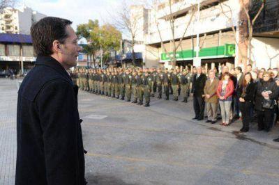 Esteban Echeverría recibió a 200 nuevos gendarmes que trabajarán en prevención