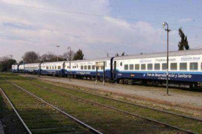 El Tren Sanitario llegó a Ramallo