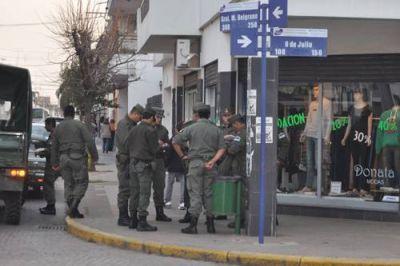 Gendarmes iniciaron operativos en las calles de la ciudad: acciones para reforzar la seguridad en la vía pública
