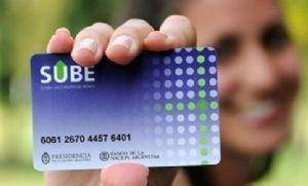 """La tarjeta """"SUBE"""" será recargada en todas las quinielas"""