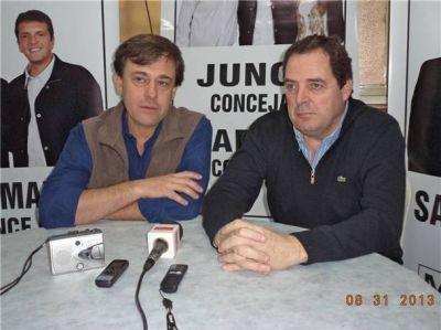 Héctor Vitale también vino a respaldar la candidatura de Marcelo Salamanco de cara a octubre