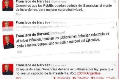 De Narváez propuso que las jubilaciones se actualicen cada seis meses y estallaron las cargadas